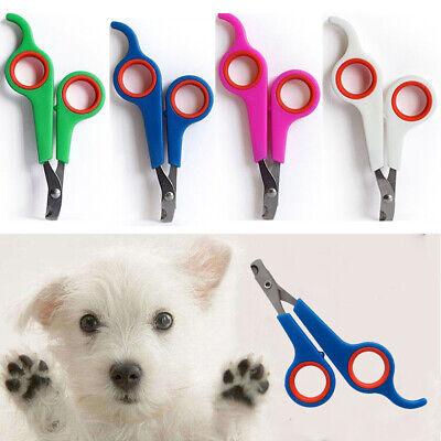 Pet Dog Cat Rabbit Nail Clippers Cut Nail Scissors Toe Trimmer Scissors Tool CA