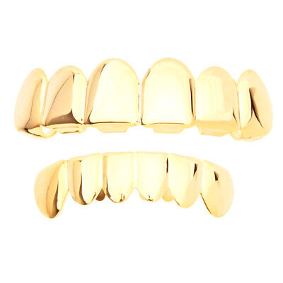 Grillz Gold One size fits all SET