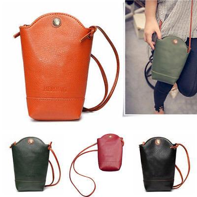 Grande Handbag Bag - Retro Women's Wallet Purse Leather Coin Cell Phone Cross-body Shoulder Bag Grand