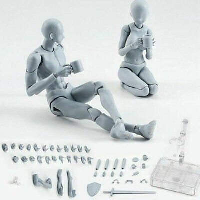 US Upgrade Drawing Figures For Artists Action Figure Model Human Mannequin Set