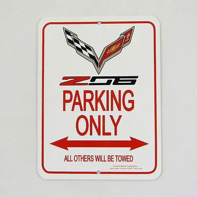 C7 Z06 Corvette Parking Only Sign