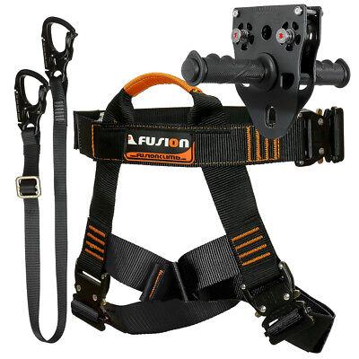 Fusion Tactical Pro Zip Line Kit Harness/Lanyard/Trolley FTK-A-HLT-14