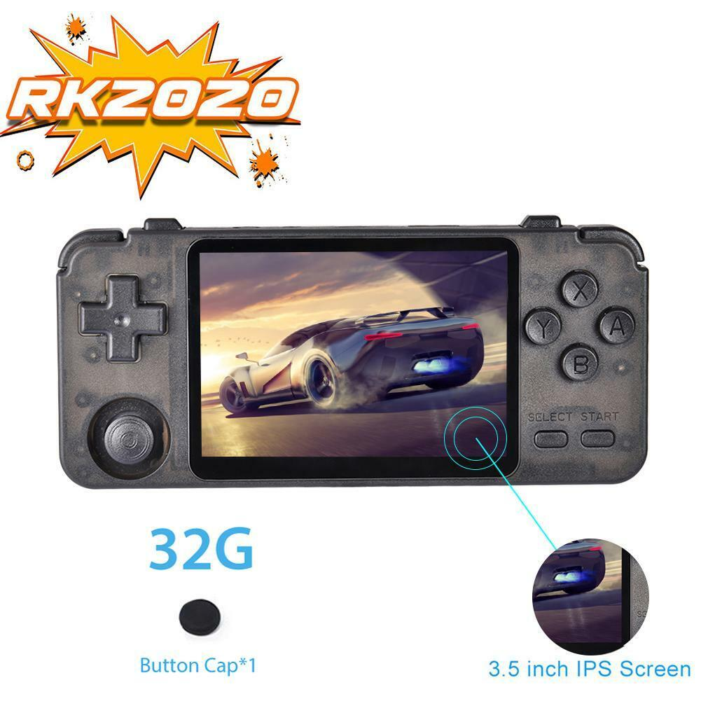RK2020 Handheld Video Game Emulator N64 Dreamcast GB GBA Seg