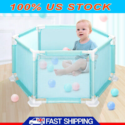 Kids Play Fence Baby Safety Pool Indoor Game Playing Tent with 10 Balls