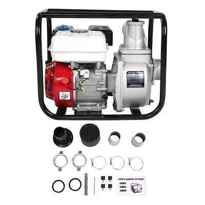 6.5hp 3 Petrol Water Transfer Pump High Flow Pressure Fire Garden Irrigation