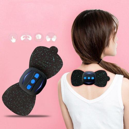 Tragbare mini elektrische nackenmassagegeräte zervikale massage schmerzlinderung