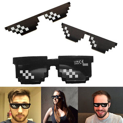 sses 8 Bit Pixel Deal With IT Sunglasses Brille Sonnenbrille (8-bit Sonnenbrille)