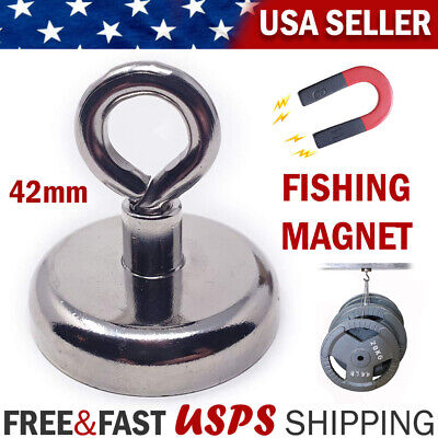 Fishing Magnet Neodymium With Pulllifting Hook Retrieving Treasure Hunt Collect
