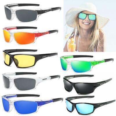 Men Outdoor Sunglasses Polarized Sport Driving Fishing Square Glasses BEST