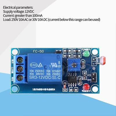 Dc 12v Stable Ldr Photoresistor Relay Module Controler Light Sensor Switch 78l05