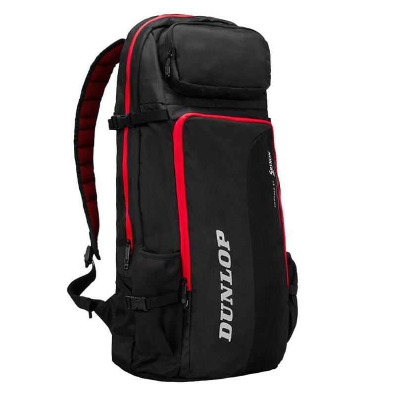 Dunlop CX Performance Long Tennis Backpack Black and Red (   )