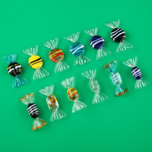 Купить Unbranded Candy - 12pcs Vintage Murano Glass Sweets Wedding Party Candy Christmas Decorations Gift