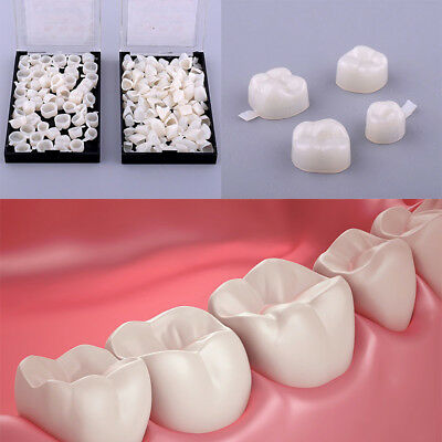 50pcs Dentistry Oral Dental Temporary Posterior Anterior Teeth Crown Tooth Usa