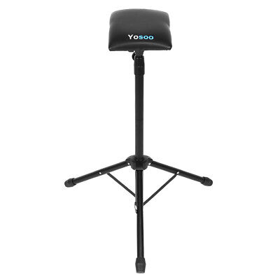 Adjustable Foldable Tattoo Tripod Stand For Arm Leg Rest Studio Chair Sponge Pad