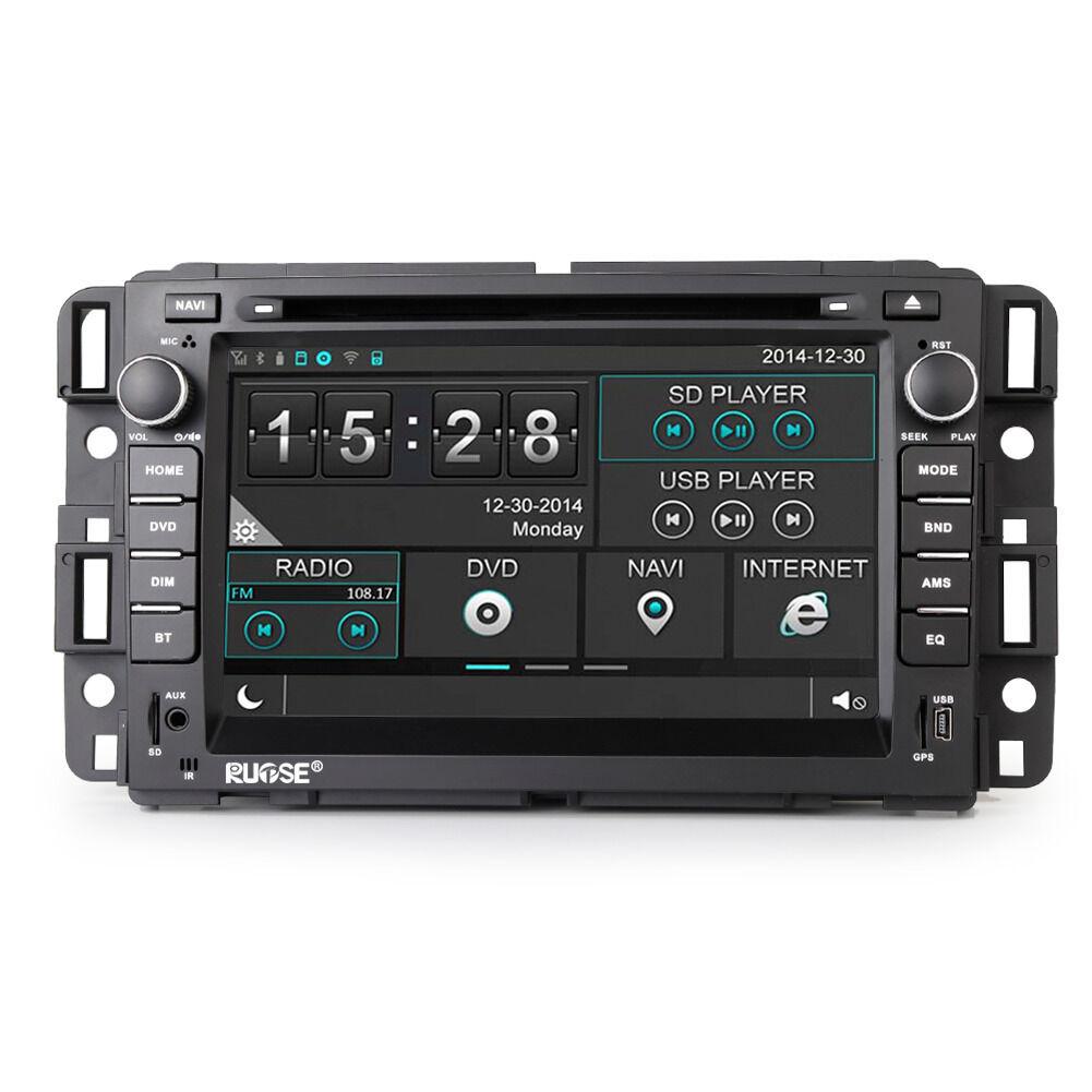 US Autoradio GPS Satnav DVD For Chevrolet Silverado