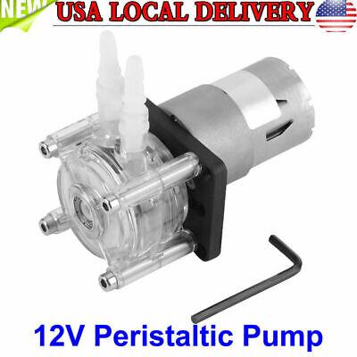 High Flow Peristaltic Pump Tube Dosing Vacuum Aquarium Lab Analytical Water 12v