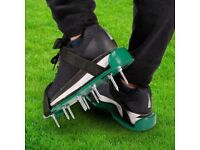 Pair of garden aerator overshoes. Brand new. Collect only