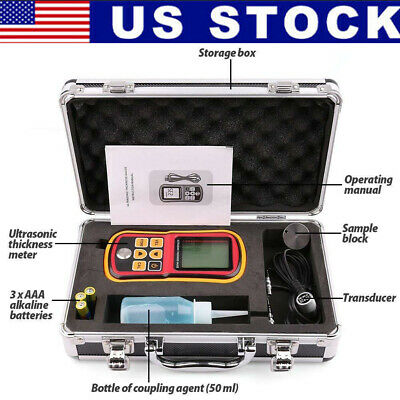 Ultrasonic Thickness Meter Tester Gauge Velocity 1.2225mm Metal Waveus Seller