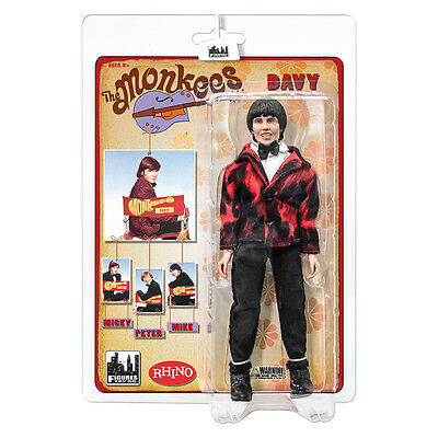 The Monkees 8 Inch Retro Style Action Figures Tuxedo Outfit: Davy Jones