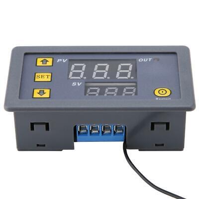 Dc 12v 24v 220v Led Digital Thermostat Temperature Alarm Controller Sensor Meter