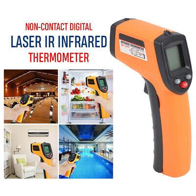 Temperature Gun Non-contact Digital Ir Laser Infrared Ir Thermometer Temp Meter