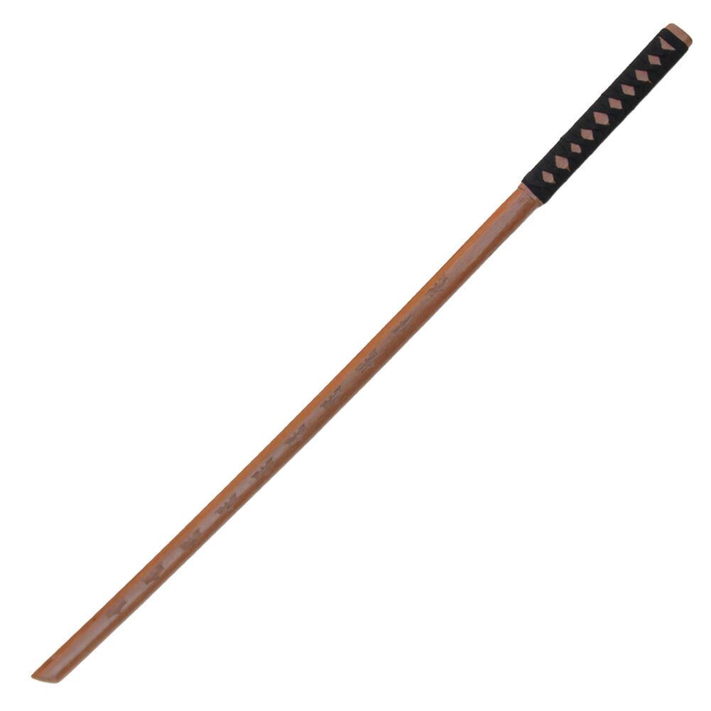 Dark Night Rises Natural Wood Sword Practice Martial Arts Karate Katana Bokken