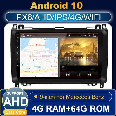 Android 10.0 GPS Autoradio Für Mercedes Benz Benz W639/Vito/Viano /W906/Sprinter