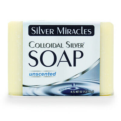 Colloidal Silver Soap by Silver Miracles MANUFACTURER DIRECT