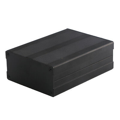 1007635mm Aluminum Pcb Instrument Box Enclosure Electronic Project Case Black