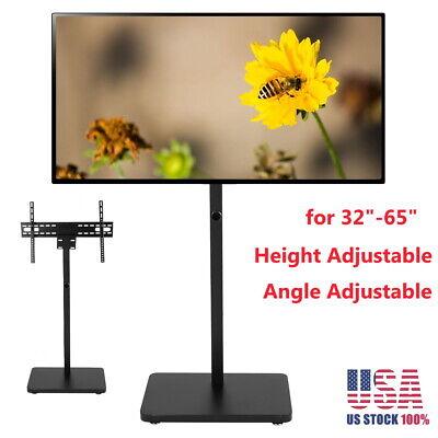 Floor Universal Adjustable TV Stand Swivel Mount Flat Screen TV for 32-50 inch Flat Screen Swivel Stand