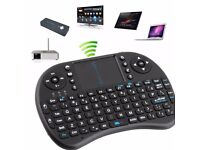 Black I8 Touchpad Of Android Remote Control Air TV BOX Mouse Keyboard 2.4GHz