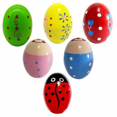Percussion Musical Egg Easter Maracas Egg Shakers Kids Toys with Assorted Colors](Easter Egg Toys)