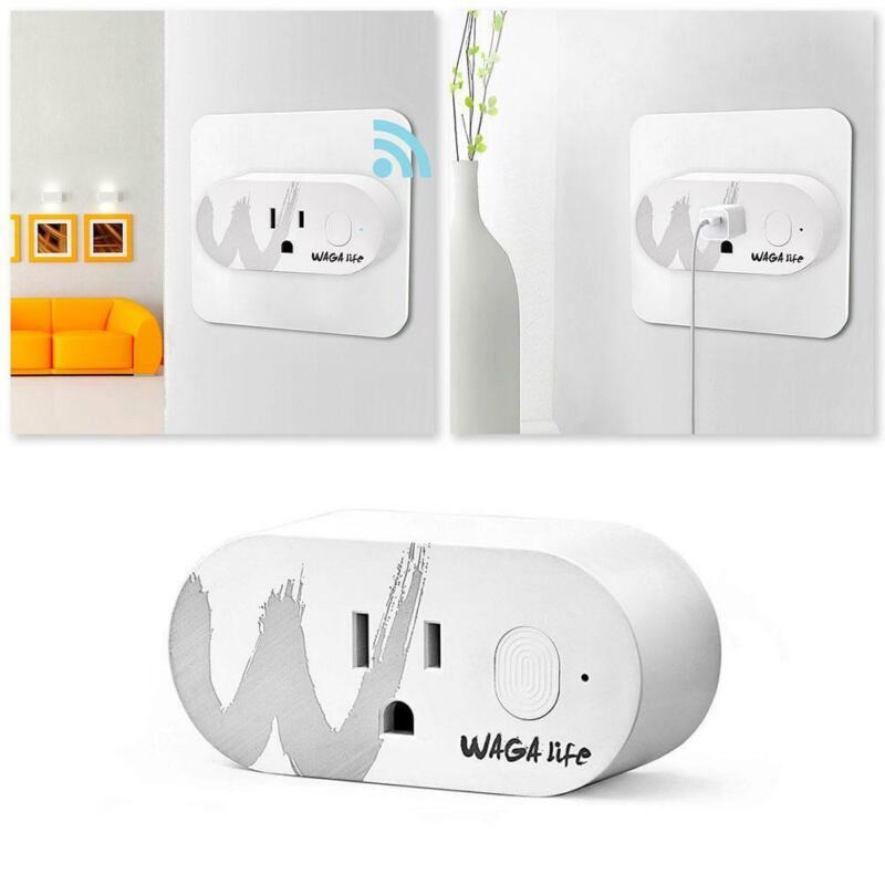 1* Mini Wi-Fi US Plug Sockets 2.4GHz 16A Max Load Wireless S