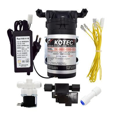 FilterTech Reverse Osmosis RO Booster Pump DIY Set