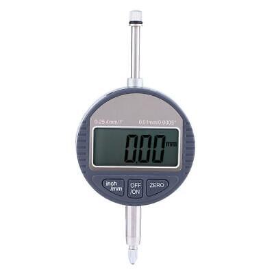 Digital Electronic Lcd Display Dial Indicator Probe Test Gauge Range 0 25.4mm