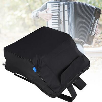 Portable Black Thick Padded Accordion Gig Bag Case Waterproof Multiple Pockets