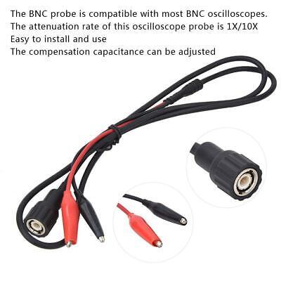 1x 10x Attenuation Oscilloscope Probe Oscilloscope Parts Bnc Head To Clip