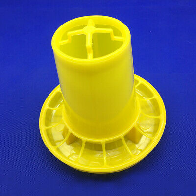 Chicken Feeding Bucket Plastic Chicken Feeder For Feeding Quail Pigeons Birds