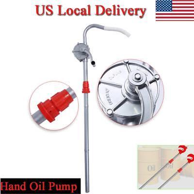 Easy-assembled Aluminum Alloy Petrol Lubricating Hand Rotary Oil Barrel Pump