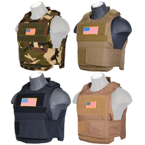 Lancer Tactical NAVY SEAL Style Padded Airsoft Plate Carrier Vest CA-302