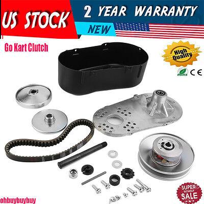 "Go Kart Torque Converter Kit CVT Clutch 3/4"" Comet TAV 30 219554A Manco 12T #35"