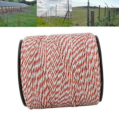 Portable Electric Fence Polywire 500m1640 Ft Portable Electric Livestock Fence