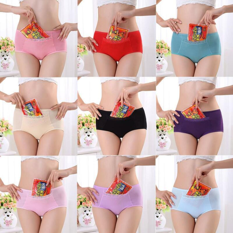 Cotton Leak Proof Menstrual Panties Period Physiological Pants Women Underwear