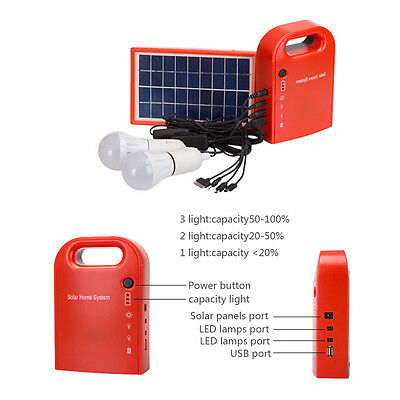 10W Portable Home Outdoor Small DC Solar Panels Charging Generator Power