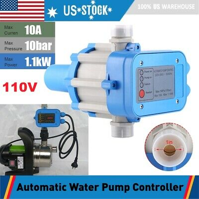 Automatic Electronic Switch Control Unit Water Pump Pressure Controller 110v