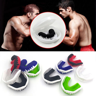 Gum Shield Boil Bite Mouth Guard All Sports Boxing MMA Rugby Football Hockey