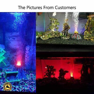 Aquarium Volcano Fish Tank Decorations Bubbler Ornament Bubble Air Stone (Aquarium Fish Tank Ornament)