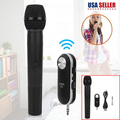 UHF Handheld Wireless Microphone System Handheld Mic Karaoke Stage KTV DJ Music