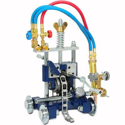 Manual Beveler Pipe Cutting Beveling Machine Torch Track Chain Cutter Cg-211y