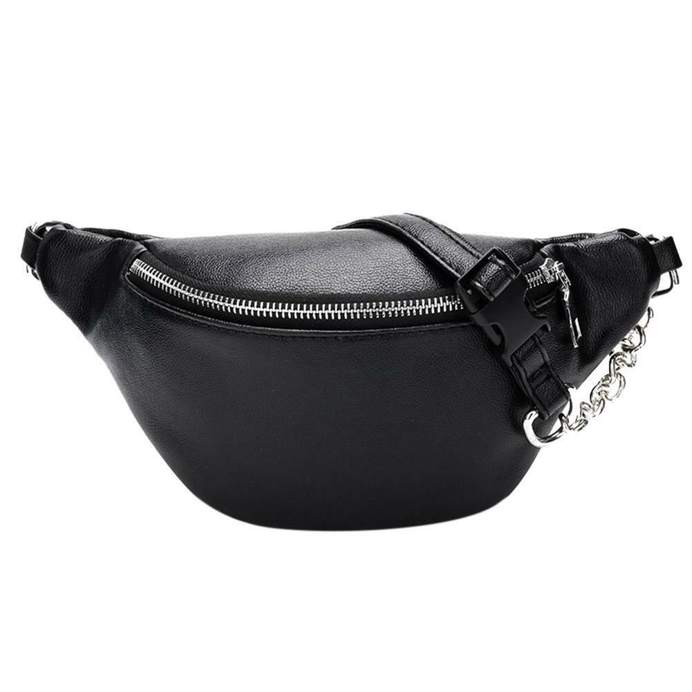 Leather Bag Lot of 5 New Leather Waist Pouch Fanny Pack BNWT Black Waist Bag